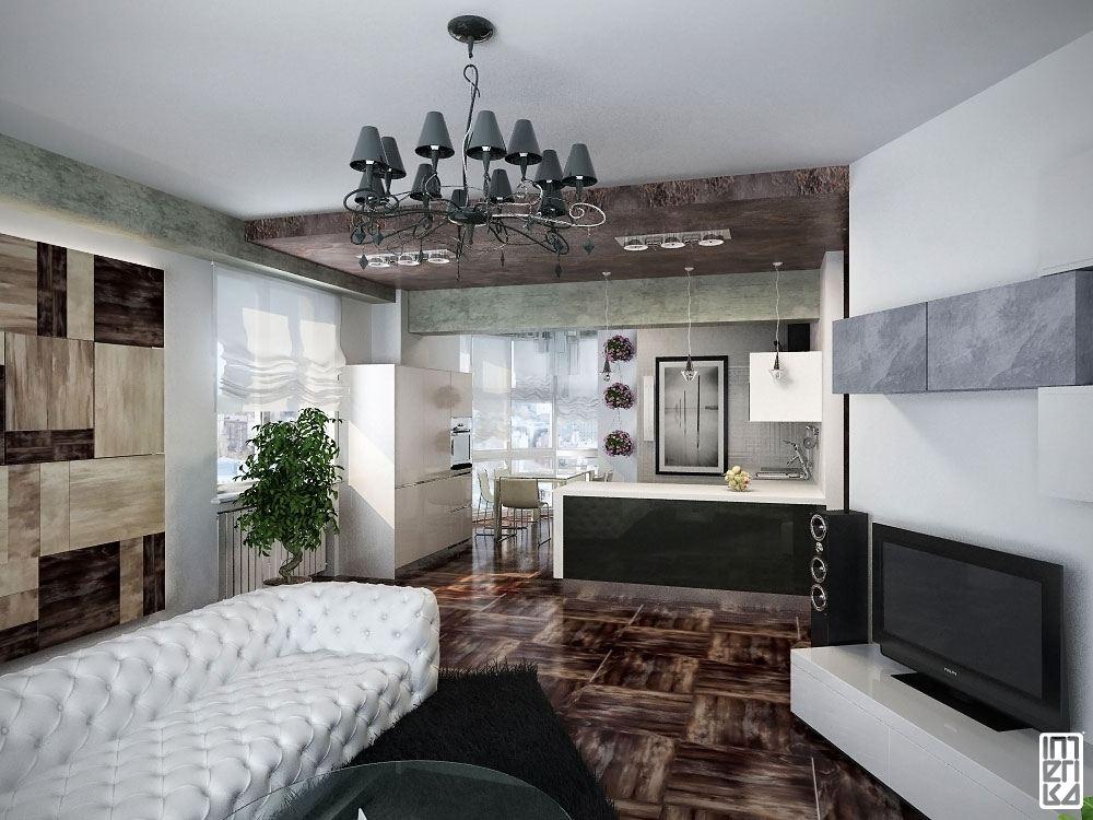 В целом интерьеры квартир состоят из