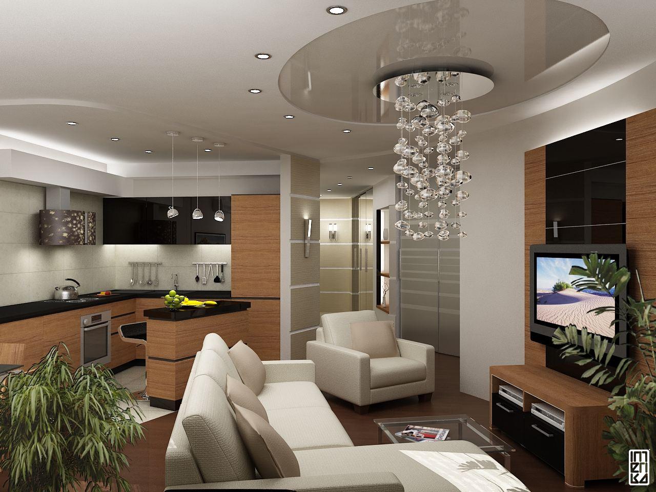 Дизайны квартир в фотографиях